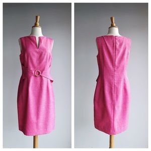 DAVID MEISTER | Pink Sheath Dress | 10